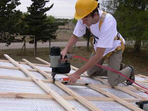 Nieuw dakkapel of dakraam